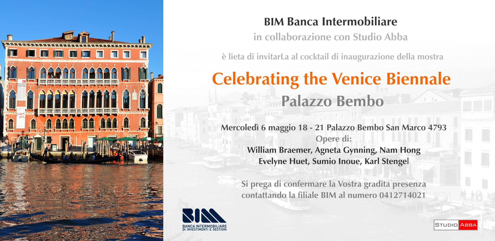 6 maggio BIM - Studio Abba - Palazzo Bembo Venezia