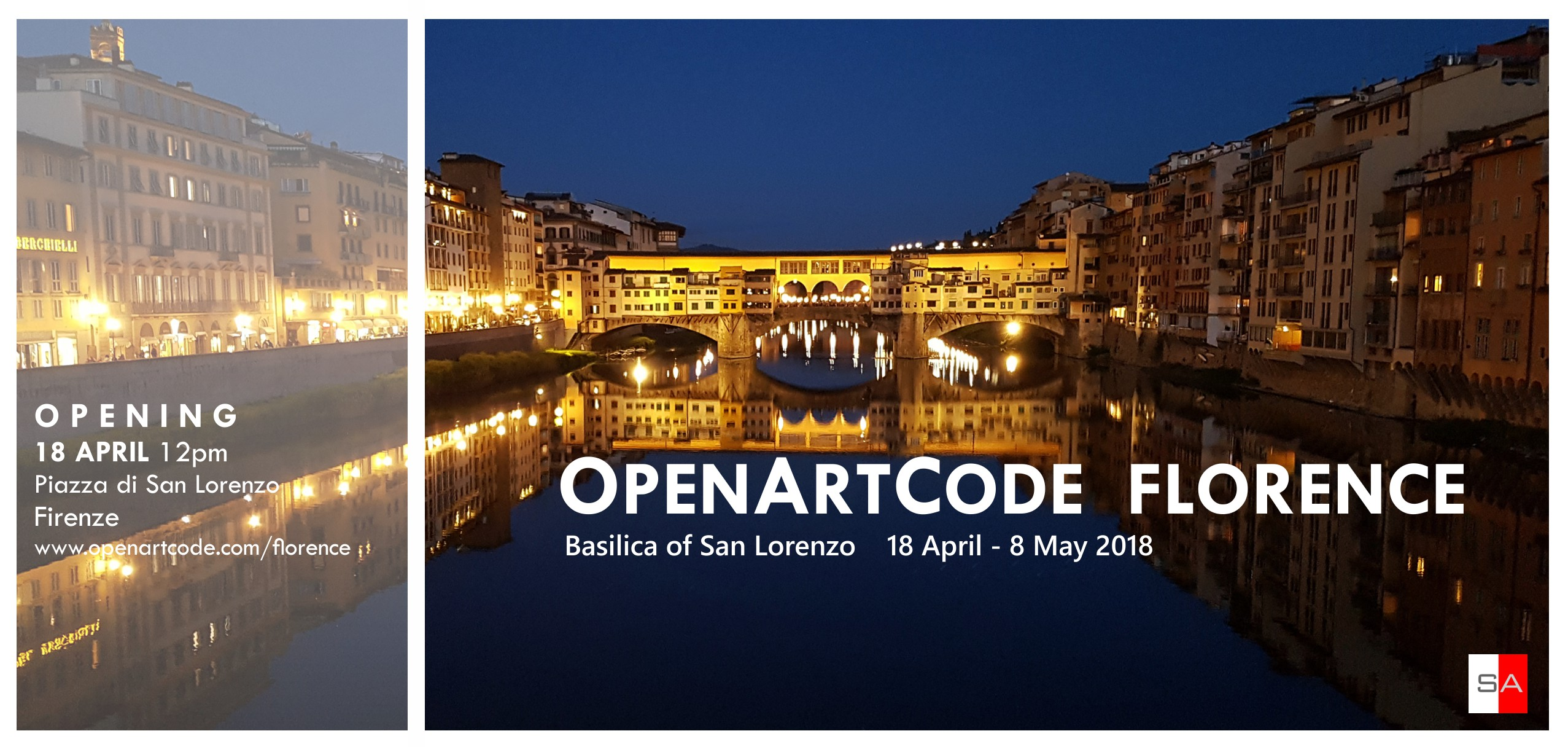OpenArtCode Florence invitation