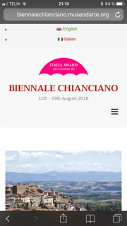 Biennale Chianciano
