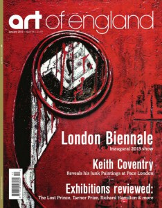 Art of England cover december 2012